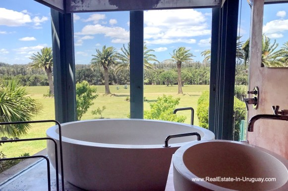 Bathroom of Incredible Large Estate behind La Barra and near the Golf Course