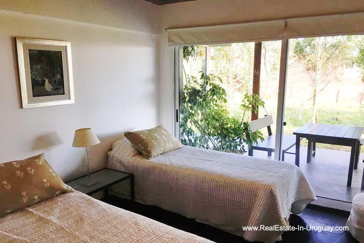 Guest Bedroom of Home in El Chorro by Manantiales