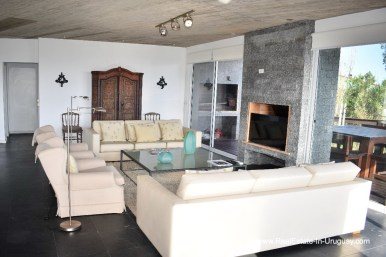 Living Room of Home in El Chorro by Manantiales