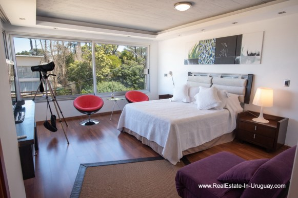 Master Bedroom of Well Built House in Montoya by La Barra