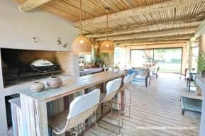 BBQ of Excellent Home in Pueblo Mio by the Golf Course La Barra