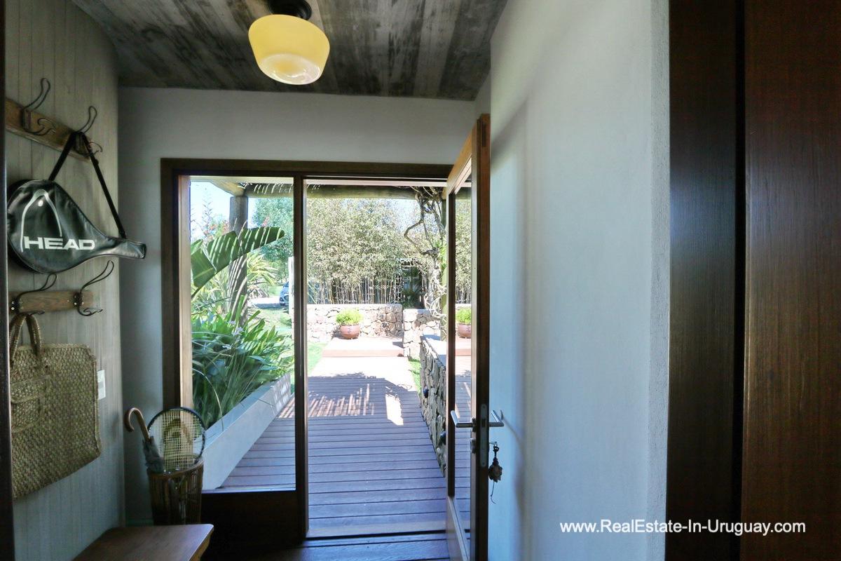 Entrance of Excellent Home in Pueblo Mio by the Golf Course La Barra