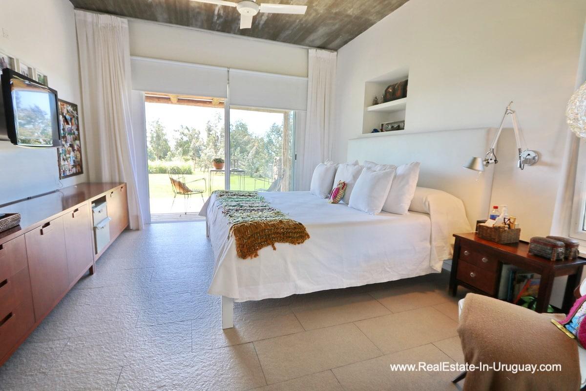 Master Bedroom of Excellent Home in Pueblo Mio by the Golf Course La Barra