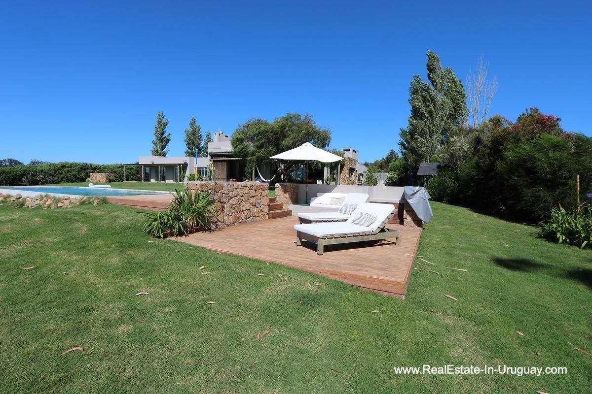 Pool of Excellent Home in Pueblo Mio by the Golf Course La Barra