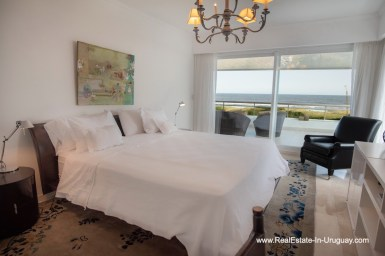 Master Bedroom of Spacious Apartment on the Brava in Punta del Este