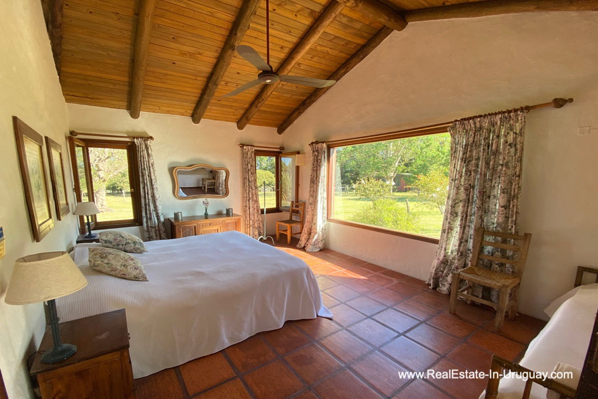 Bedroom of Ranch on 8 Hectares in Jose Ignacio