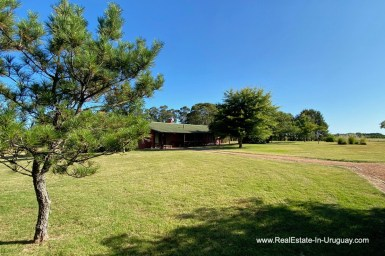 Entrance of Ranch on 8 Hectares in Jose Ignacio