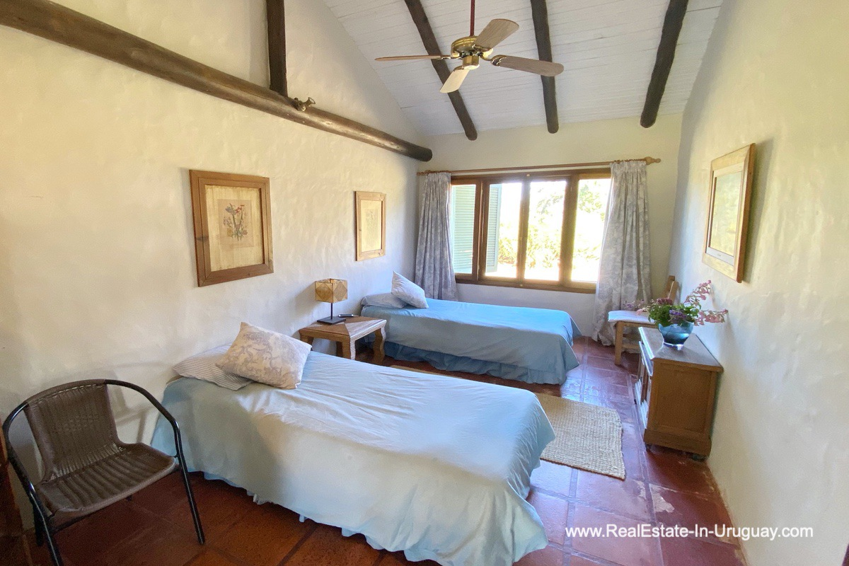 Guest Bedroom of Ranch on 8 Hectares in Jose Ignacio