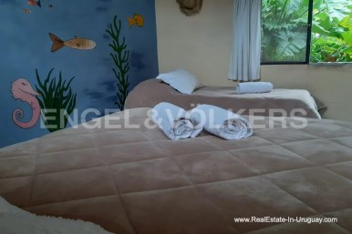 Bedroom of Farm with Organic Garden near Wineries in Canelones