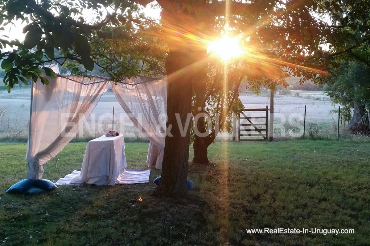 Sunset Farm with Organic Garden near Wineries in Canelones
