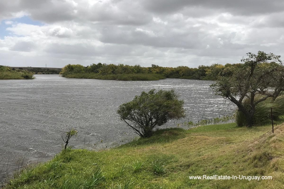 River Estancia along the Jose Ignacio River