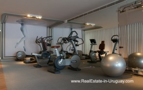 Gym of YOO Apartment on a High Floor with Ocean Views in Punta del Este