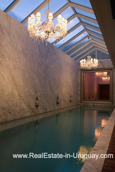Pool of YOO Apartment on a High Floor with Ocean Views in Punta del Este