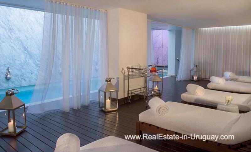 Spa of YOO Apartment on a High Floor with Ocean Views in Punta del Este