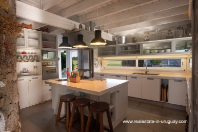 Kitchen of Country Home near Laguna del Sauce by Punta del Este