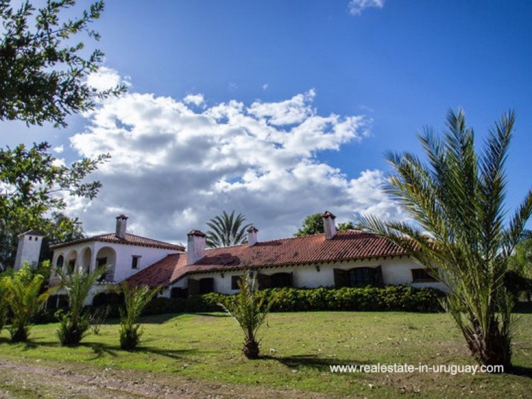 Grounds of Large Touristic Ranch in the Countryside of Uruguay