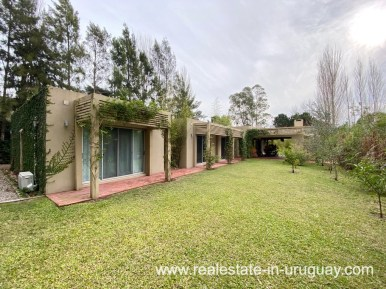 House of Home in the Gated Community La Arbolada in Punta del Este