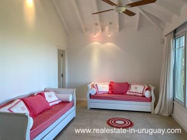 Guestroom of Large Oceanfront Villa in Punta Ballena
