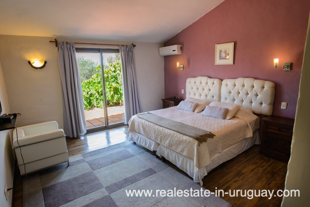 Other Bedroom of Large House with Views to Laguna del Sauce by Punta del Este