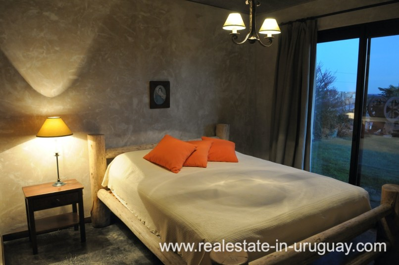 Bedroom of Spectacular Farm situated on a Hill by Laguna del Sauce
