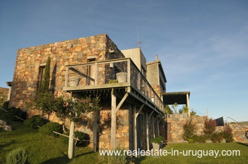 Side of Spectacular Farm situated on a Hill by Laguna del Sauce