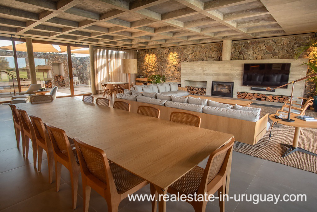 Dining of Modern and Style combined with Country Views in Pueblo Mio by Manantiales
