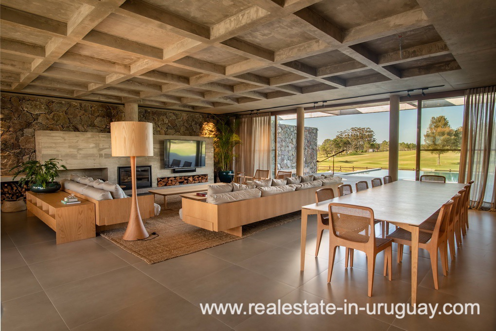 Dining Room of Modern and Style combined with Country Views in Pueblo Mio by Manantiales