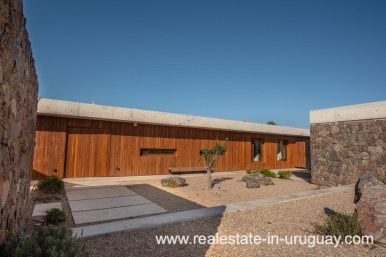 Entrance of Modern and Style combined with Country Views in Pueblo Mio by Manantiales