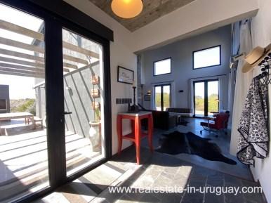 Entrance of Design Home in San Antonio near La Pedrera on the Beach
