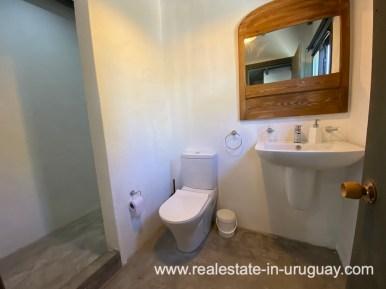Bathroom of Design Home in San Antonio near La Pedrera on the Beach