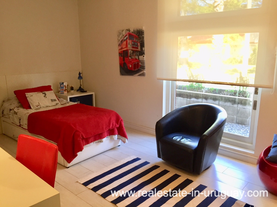 Bedroom of Home on the Mansa in Punta del Este
