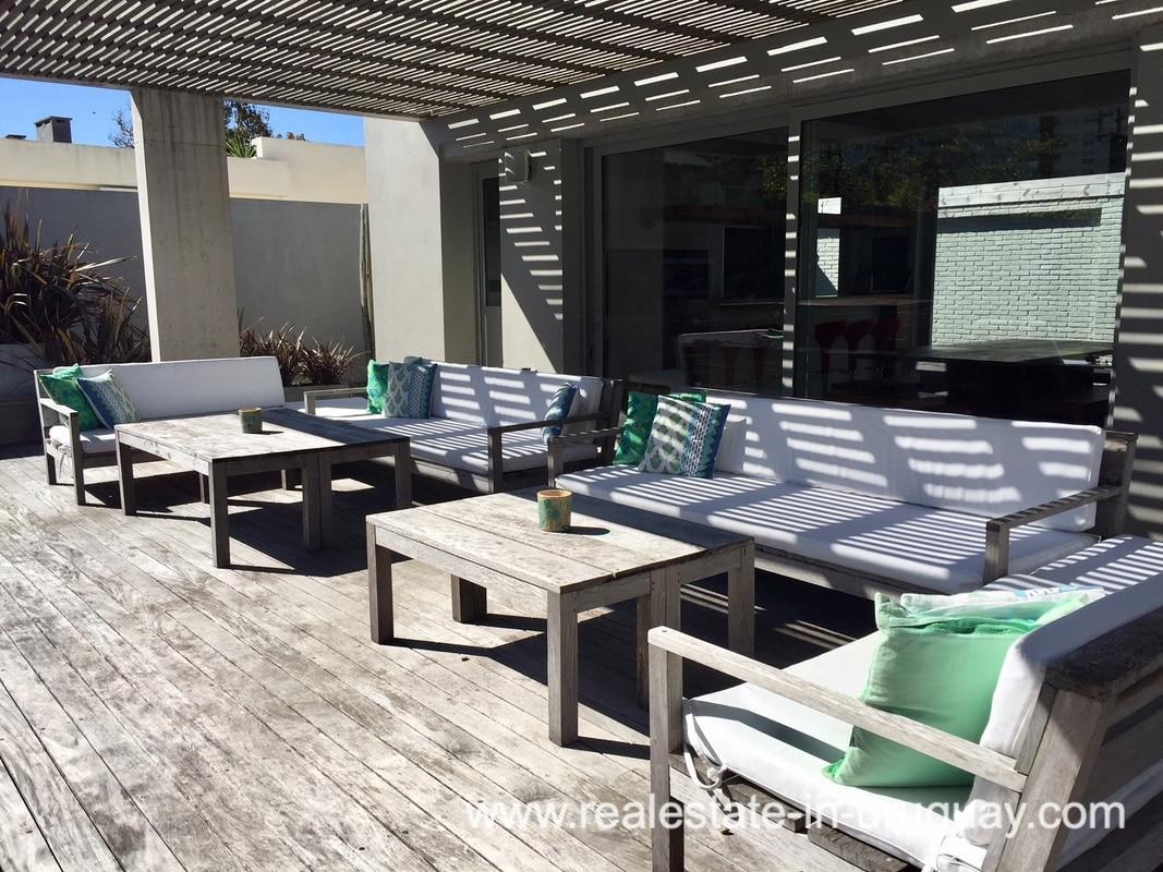 Terrace Home on the Mansa in Punta del Este