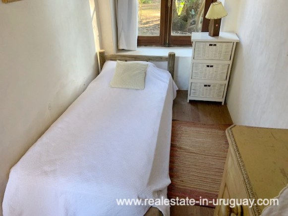 Guestroom of Finca off Camino Medellin near Santa Monica and Jose Ignacio