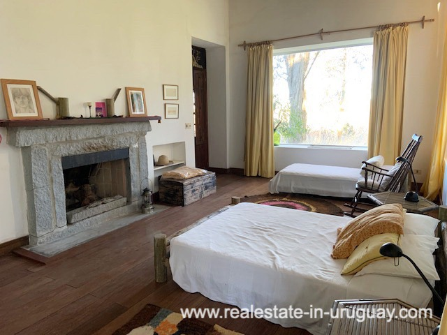 Master Bedroom of Finca off Camino Medellin near Santa Monica and Jose Ignacio