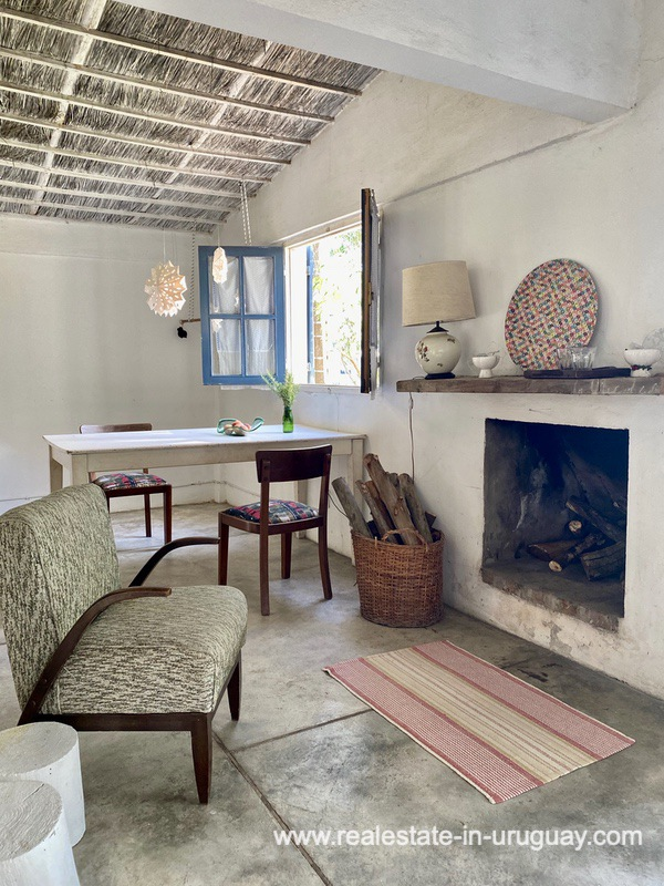 Living Space of Cute Little House in Trendy Gourmet Town Garzon