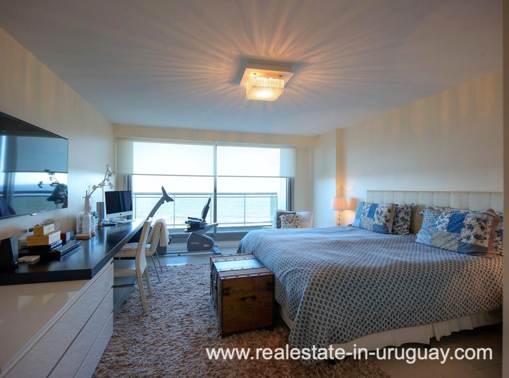 Bedroom #2 of Penthouse near the Peninsula in Punta del Este