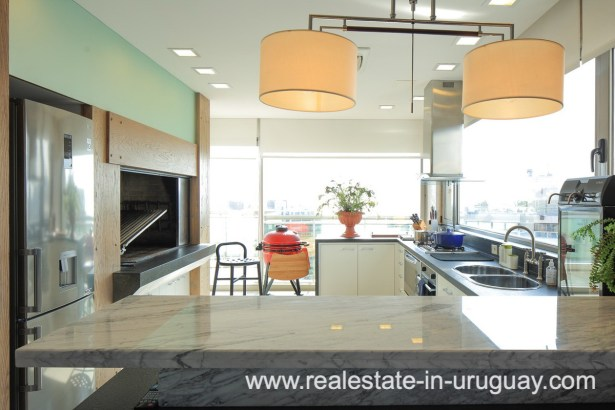 Kitchen Penthouse near the Peninsula in Punta del Este