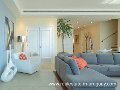 Living Space of Penthouse near the Peninsula in Punta del Este