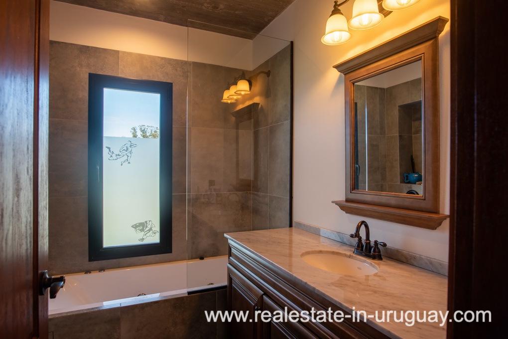 Bathroom of Pueblo Mio by La Barra Golf