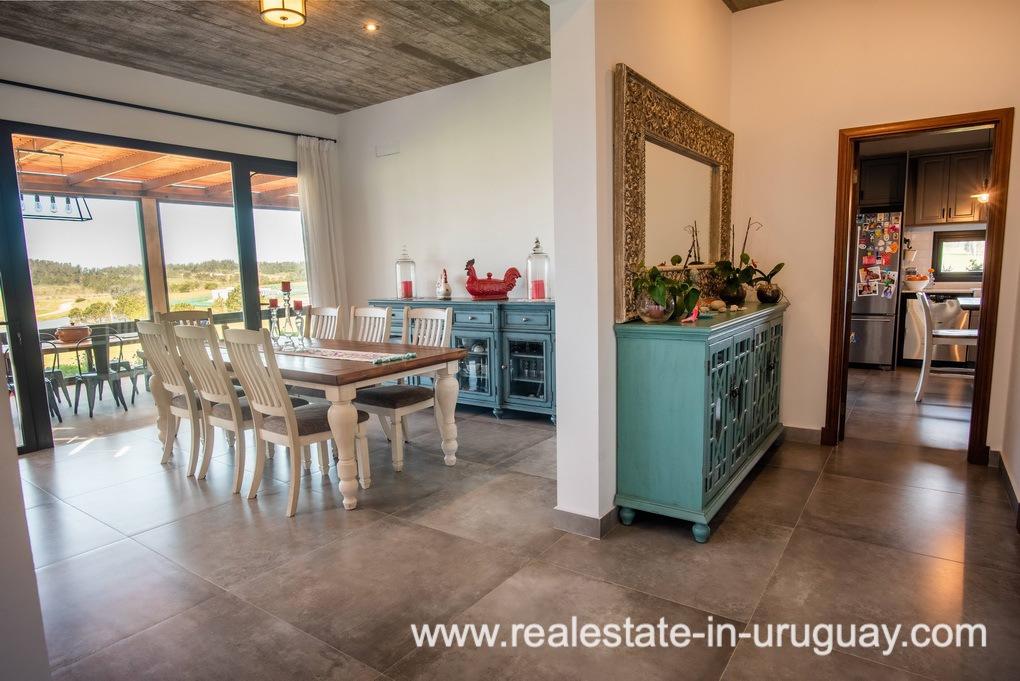 Dining Room of Pueblo Mio by La Barra Golf