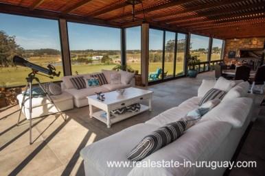 Sitting Area of Pueblo Mio by La Barra Golf