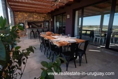 Terrace Dining of Pueblo Mio by La Barra Golf
