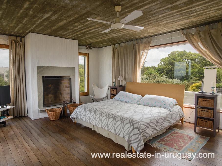 Master Bedroom of Beach Property in La Carolina