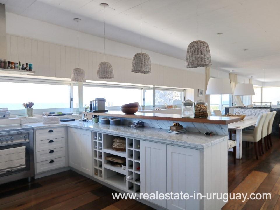 Kitchen of Beach Home in Santa Monica