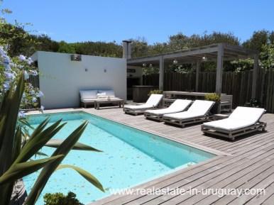Pool of Beach Home in Santa Monica