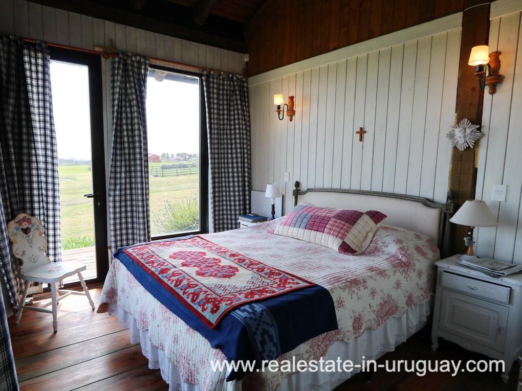 Bedroom of Farm House in El Quijote near Fasano and La Barra