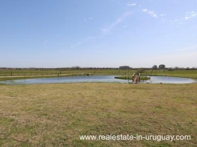 Lake of Farm House in El Quijote near Fasano and La Barra