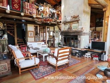 Livng Area of Farm House in El Quijote near Fasano and La Barra