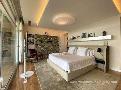6854 Modern House on Laguna del Sauce - Bedroom8