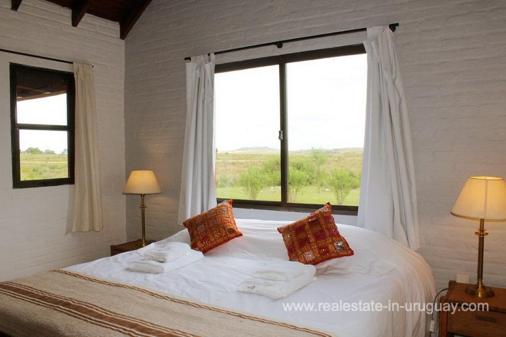 Guestroom of Amazing Country Property between Pueblo Eden and Minas